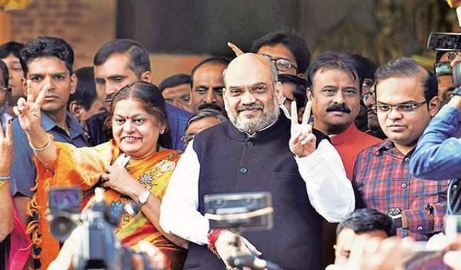 गुजरात में भाजपा ने बनाई बढ़त, 6ठी बार लगातार भाजपा सरकार