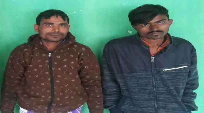 आठ मोबाइल सहित दो मोबाइल चोर गिरफ्तार