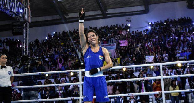 छठी बार विश्व चैम्पियन बनी मेरीकॉम, यूक्रेन की युवा हन्ना को 5-0 से किया पस्त